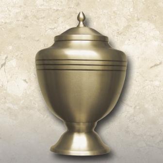 Chalice Classic Brass Urn