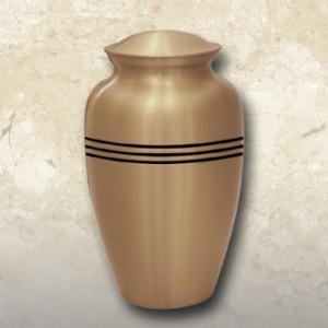 Classic Gold Brass Urn