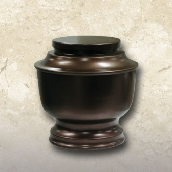 Econoguard Urn Aluminum with Bronze Finish